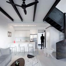 Contemporary Living Room by Gerstner
