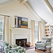 Traditional Living Room by Tim Barber LTD Architecture & Interior Design