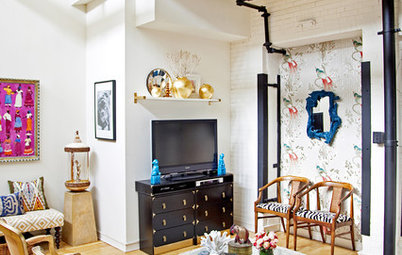 Houzz Tour: Eclectic Jewel Box Loft in Philadelphia