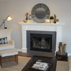Traditional Living Room by Jaye Lee Interiors