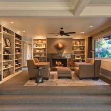 Contemporary Living Room by Blutter Shiff Design Associates