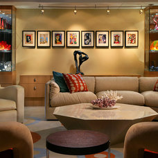 Contemporary Living Room by K2 Design