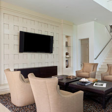 Contemporary Living Room by Borelli Construction of Naples Inc.