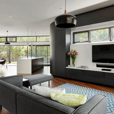 Contemporary Living Room by Adam Dettrick Architects
