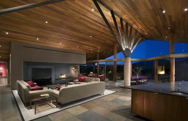 Contemporary Living Room Narula / Desert Mountain / Scottsdale