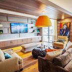 Living Room - Modern - Living Room - Austin - by Watermark ...