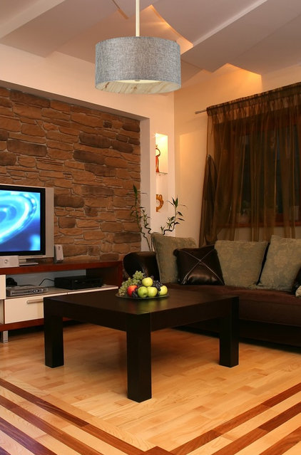 Contemporary Living Room by We Got Lites