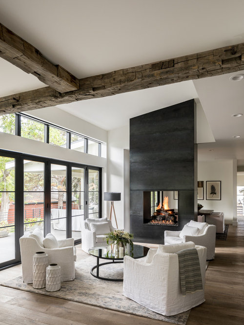 Best 30 Farmhouse Living Room Ideas & Decoration Pictures | Houzz