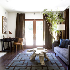 Contemporary Living Room by Tim Clarke Design