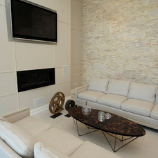 Living Room by Realstone Systems