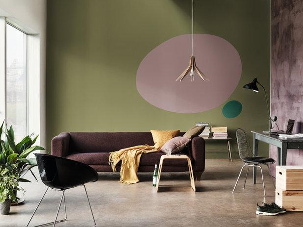 Contemporain Salon by Dulux