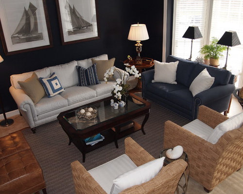 Nautical Living Room Ideas, Pictures, Remodel And Decor