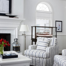 Traditional Living Room by Cottage Company Interiors