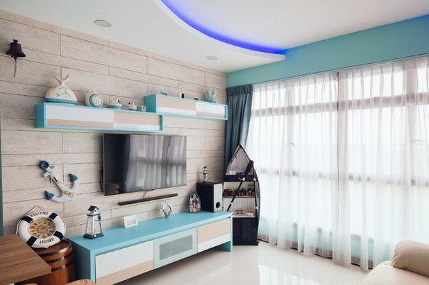Living Room by Urban Habitat Design