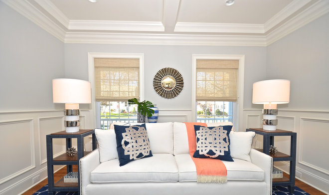 Transitional Living Room by kellydesigns