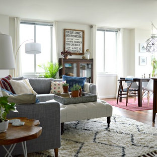 Example of an eclectic living room design in DC Metro
