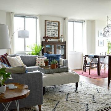 Navy Yard Condo - Main Living Spaces