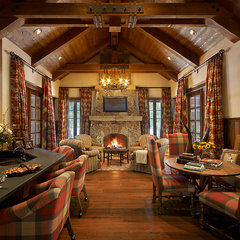 traditional living room by Nelson Barnum Interiors