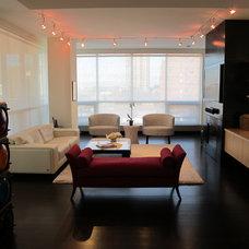 Contemporary Living Room by Ramsey Engler LTD