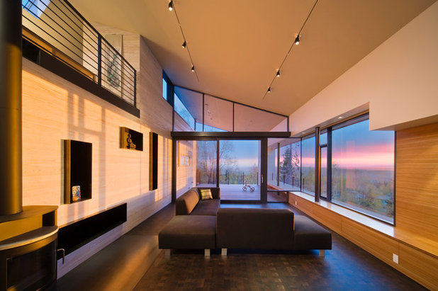 Fancy Contemporary Living Room by Workshop AD