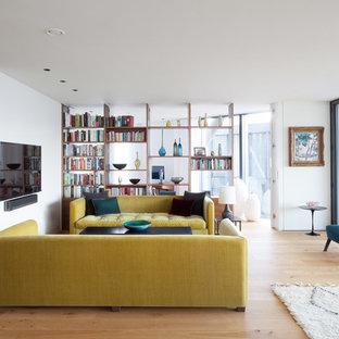 Living room - open shutters