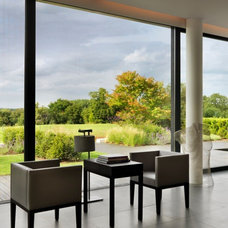 Contemporary Family Room by Gregory Phillips Architects