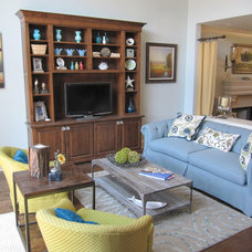 Eclectic Living Room by Cynthia Stipe Merrick
