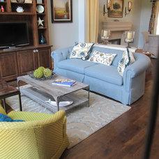 Beach Style Living Room by Cynthia Stipe Merrick