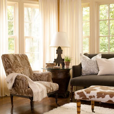 Traditional Living Room by Orrick & Company