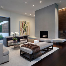 Modern Living Room by Specht Harpman Architects