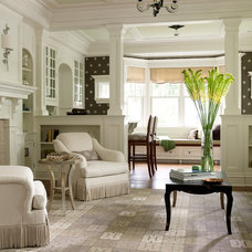 Traditional Living Room by Michael Smith Architects