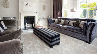 New carpeting throughout a renovated period country property