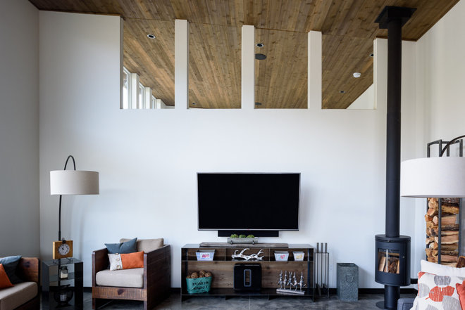 Living Room by Dan Nelson, Designs Northwest Architects