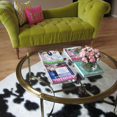 eclectic living room by Leah