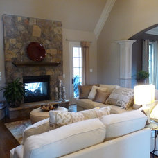 Traditional Living Room by Carolina Classic Remodeling