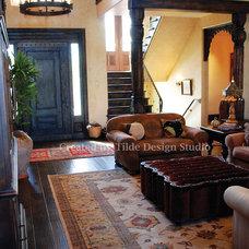 Mediterranean Living Room by Tilde Design Studio