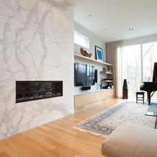 Contemporary Living Room by South Park Design Build