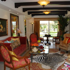 Traditional Living Room by Sienna Blanca Design, Inc.