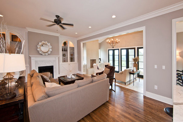 Contemporary Living Room by Stacy Jacobi