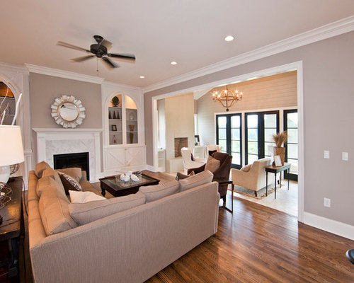 Benjamin moore shale houzz - Benjamin moore paint for living room ...