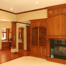 Traditional Living Room by SWEDBERG WOOD PRODUCTS INC