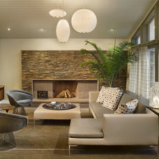 Contemporary Living Room by Re|Structure Design-Build, LLC