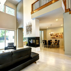 Contemporary Living Room by Fairmont Homes