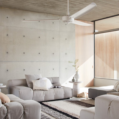 Scandinavian Living Room by Beacon Lighting