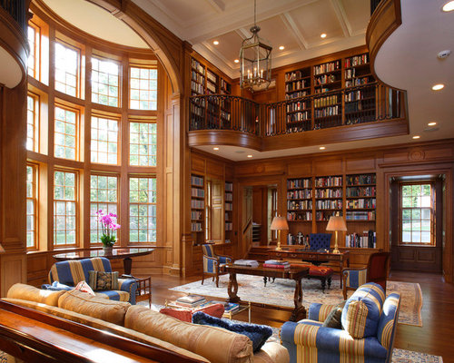Two Story Library Ideas Pictures Remodel And Decor