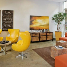 Contemporary Living Room by Collaborative House