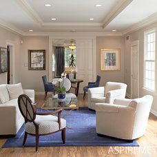 Traditional Living Room by Aspire Metro magazine