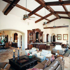 Traditional Living Room by Taylor Homes & Associates