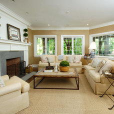 Traditional Living Room by JCS Construction Group, Inc