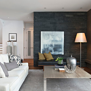 Stone Gas Fireplace   Houzz on Colao & Peter Luxury Outdoor Living id=41131